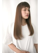 エアーギンザタワー(airGINZA tower)柔らか質感の美髪ネオストレートスタイル