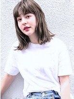 『カット+ファストブリーチ+ホワイトグレージュ』Y☆101