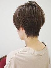 ポルテヘアー(porte hair)後頭部に丸みのあるコンパクトショート★