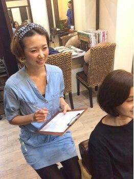 """ヘアリゾート フロム ココ(HairResort fromCoCo)の写真/年齢と共に気になり始める髪のボリュームや、クセ・広がり。大人女性のお悩みは""""from CoCo""""にお任せ♪"""