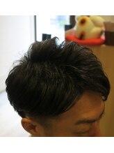 レーヴ ヘアー(Reve hair)アイロンパーマで作る今時大人ツーブロック
