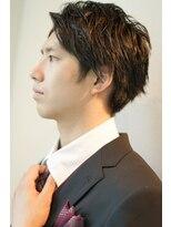 ヘアーリゾートノーブル(Hair Resort Noble)【Noble】モテ髪ビジネスソフトモヒカン byイナダ