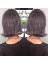ヘアアンドヒーリング クローバー(Hair&Healing Clover)purple gray
