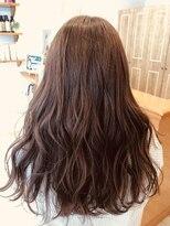 ヘアーサロン リアン 熊谷2号店(hair salon Rien)明るめラベンダーブラウン