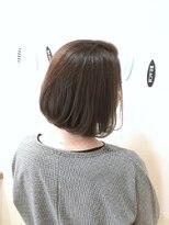 ヘアーデザイン アコースティック(Hair Design ACOUSTIC)艶ボブ