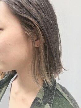 """アルジス(aruJisu)の写真/""""色味の美しさ&透明感""""を大切に―。話題の[THROW]で叶える、トレンドカラーが◎LifeStyleに合わせてご提案!"""