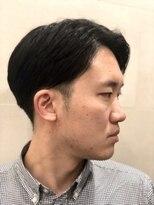 グレイスフル バーバープラチナム 六本木店(Graceful Barber platinum)【理容室】ナチュラル 七三