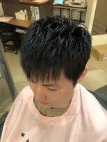 銀座マツナガ 浅草店ナチュラルアイロンパーマスタイル【理容室】【浅草】