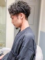 くせ毛カットショートマッシュ短髪パーマID@kousuke.kido