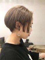 チクロヘアー(Ticro hair)【 TICRO大石】SHORT BEIGE