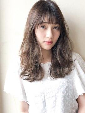 アグ ヘアー リル 志木店(Agu hair lilou)《Agu hair lilou》ゆるふわデジタルパーマ シースルーバング