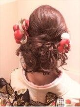 ヘアリベーテ(hair Liberte)アップセット・着付け