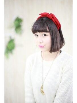 シンヤヘアーズ(SHINYA HAIRS)SHINYA original minimal bob