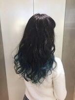 ヘアサロン ドット トウキョウ カラー 町田店(hair salon dot. tokyo color)【sky blue】ブリーチグラデーションカラー 【町田/町田駅】