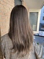 サロンドミルク 原宿(salon de MiLK)ナチュラルブラウンベージュグラデーション 艶髪髪質改善