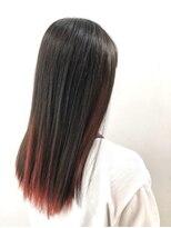 ソース ヘア アトリエ 京橋(Source hair atelier)【SOURCE】インナーディープレッド
