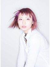 ヘア ネイルスペース エール(hair nail space a:le)透け感 ピンクラベンダー