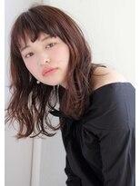 ガーデン オモテサンドウ(GARDEN omotesando)【GARDEN伊藤愛子】大人かわいいワンサイドセミウェットミディ