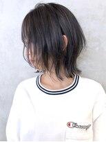 アルバム シンジュク(ALBUM SHINJUKU)レイヤーボブ_カーキグレージュマッシュショート_ba290021