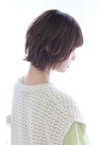 ヘアリゾート ブーケ(hair+resort bouquet)【bouquet】ウルフレイヤーで作るボブウルフ