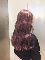 ヘアサロン ドット トウキョウ カラー 町田店(hair salon dot. tokyo color)【raspberry pink】ダブルカラーカラーリスト田中 【町田】
