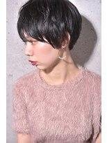 キアラ(Kchiara)コンパクトベリーショート/暗髪グレイ/Kchiara川野直人