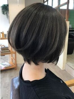ヘアアトリエ バル(hair atelier bal)の写真/【再現性の高いあなただけのショートスタイル*】高い技術力とカウンセリングにより似合うが見つかる*