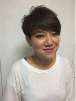 【elem.】外国人風アシメマニッシュショート