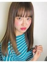 aya style★シースルーストレート