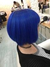 ルートヘアー(Root Hair)パールブルー♪