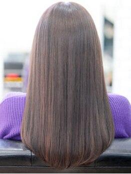 オイル(oiL)の写真/【府内☆髪質改善】大分で希少な髪質改善メニュー!蓄積したダメージを補修しながら柔らかな艶色を叶える♪