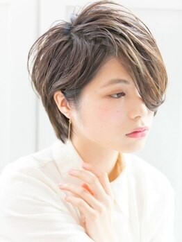 ティグル カミトオリ(TIGRE kamitori)の写真/ショートが初めての方にも◎大人可愛い×個性であなたらしさを☆イメージチェンジするならココで決まり!