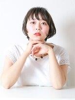 エトネ ヘアーサロン 仙台駅前(eTONe hair salon)【eTONe】リップラインショートボブ