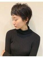 ウル(HOULe)ベリーショート HOULe 前田賢太 似合う 褒められる