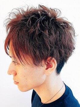 ヘアサロン ハーツ(hair salon HEARTS)の写真/学生からビジネスマンまで幅広い層から厚い支持◎簡単・時短でキマるスタイルがあなたの魅力を最大級に♪