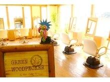 グリーンウッドペッカー(Green woodpecker)の雰囲気(落ち着いた雰囲気、居心地の良い癒しの空間でお待ちしてます☆)