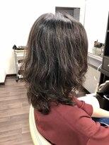 ヴィオレッタ ヘアアンドスペース(VIOLETTA hair&space)エアリーウルフヘア