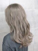 オーブ ヘアー ニコラ 大橋店(AUBE HAIR nicola)【AUBE HAIR】透け感_ミルクティーベージュ