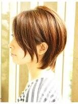 後頭部にボリューム☆360度キレイなショート/海老名 美容室