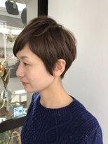 ヘアメイク オブジェ(hair make objet)アシメショート
