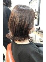 エトネ ヘアーサロン 仙台駅前(eTONe hair salon)20代30代40代/ひし形レイヤーボブ