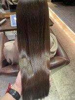 サロンドミルク 原宿(salon de MiLK)髪質改善 光沢 艶髪 ナチュラルカラー
