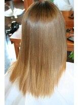 美容室 アンビー 新高円寺(envie)ハイダメージ毛の縮毛矯正です。
