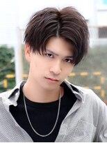 リップス 横浜(LIPPS)前髪おしゃれな黒髪ショート