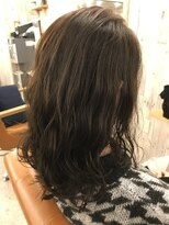 ロア ヘアーコーディネイト 烏丸店(LoRE hair coordinate)グレーアッシュ