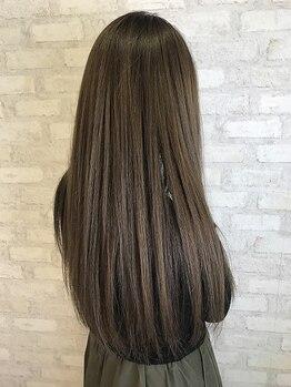 """オレンジポップ 葛西店の写真/[葛西駅すぐの駅近サロン]一人ひとりの髪のお悩みに寄り添った""""あなただけの特別なケア""""で健康的な美髪へ―"""