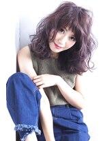イーリオ(ilio)【ilio-hair atelier-】#イルミナカラー#トワイライト#オン眉
