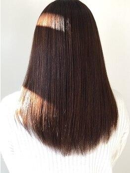 ガビーヘアルーブ(gabi hair LOOB)の写真/ナチュラルな仕上がりでリピーター多数の人気MENU♪クセやボリュームを抑えるトリートメントストレートも◎