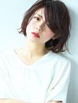 ☆春夏ヘア×ショートボブ×デジタルパーマ×黒髪×グレージュ☆