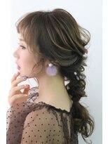 ヘアセットサロン パスクア(Hair Set Salon Pasqua)編みおろし和洋兼用スタイル